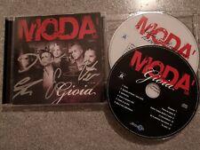 Modà Gioia Cd+DVD Autografato