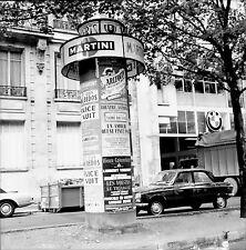 PARIS c. 1950 - Colonne Moriss - Négatif 6 x 6 - N6 P3