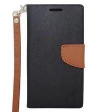 Custodie portafogli nero per Samsung Galaxy Note 4