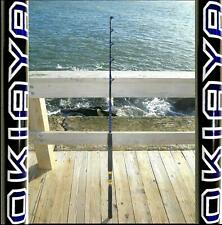"SALTWATER FISHING RODS 30-50LB FISHING POLE ""BLUELINE"" FOR PENN SHIMANO"
