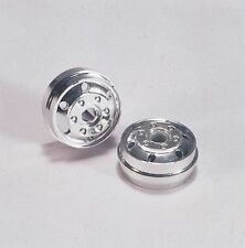 Wedico 1/16th Truck Chromed Wheels for Low-loader tyres. 1pr