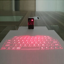 Portable Bluetooth Laser Projection Virtual Keyboard For Smart Phone PC Tablet
