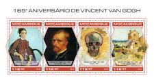 Mozambique 2018 Vincent van Gogh  paintings S201809