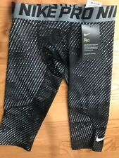 New listing Nwt Nike Pro Compression Tight Crops Size Small