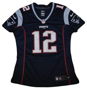 New England Patriots Tom Brady sewn Nike Jersey Women's size-Small New