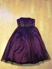 Kleid Mark Adam Abendkleid Silvesterkleid Abikleid Coctailkleid in Lila, Gr. 36