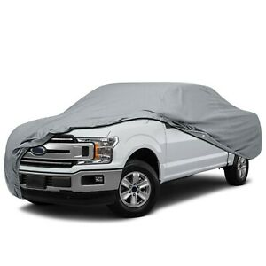 4 Layer Pickup Truck Cover for 2001 Ford F-250 Crew Cab Dually-UV Protection