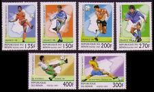 Mint Never Hinged/MNH Football Beninese Stamps