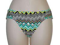 La Blanca bikini swim bottom size 8 green black hipster swimsuit swimwear new
