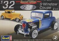 Revell 1932 Ford 5 Window Coupe 2in1 1:25 scale model car kit new 4228