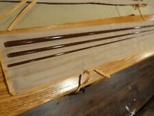 S-GLASS Fly Rod Blank 6'6 23 wt 3 piece Marsala, Tip over butt, Rod Building