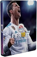 FIFA 18 Steelbook Case PS4 & Xbox One * NEW SEALED * NO GAME
