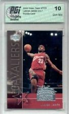 LeBron James UD National Trading Card Day Rookie PGI 10