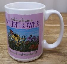 Advise From Wild Flower 2012 Your True Nature Coffee Mug Cup Wild Wonderful