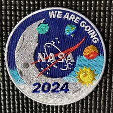 "NASA ARTEMIS PROGRAM - RETURN TO THE MOON 2024- ASTRONAUT PATCH - 3.5"""