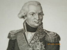 Très rare Gravure de l' Amiral VILLARET de JOYEUSE - Gd Aigle Légion d' Honneur