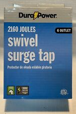 DURAPOWER 6 OUTLET SWIVEL SURGE TAP 2160 JOULES NEW IN PACKAGE