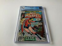 MS. MARVEL 14 CGC 9.6 WHITE PAGES DRACULA CAROL DANVERS MARVEL COMICS 1978