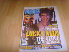 NME indie music mag 7 Feb 98 Verve cover Readers Pool Results