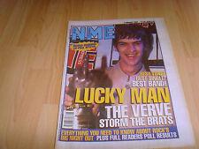 NME indie music mag 7 Feb 98 Verve cover Readers Pool Results