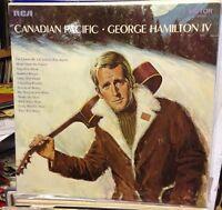 GEORGE HAMILTON IV Canadian Pacific - 1969 UK  VINYL LP EXCELLENT CONDITION