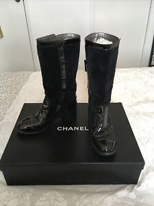 Chanel Biker Boots Size 38 Made in Italy Retail price US $1,495