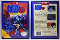 Mega Man 3 - Nintendo NES Custom Case - *NO GAME*