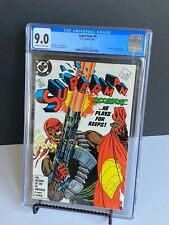 Superman 4 (1987) CGC 9.0 1st Appearance BLOODSPORT (Idris Elba Suicide Squad)