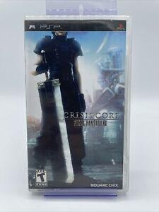 Crisis Core: Final Fantasy 7 (Sony PSP) Complete CIB Black Label
