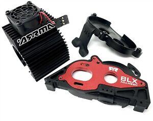 Arrma BIG ROCK 4x4 3s BLX - Aluminum Mount Motor Fan Granite Senton ARA4312v3