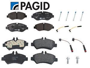 For Dodge Freightliner Mercedes Sprinter 2500 Front & Rear Disc Brake Pads Kit