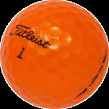 24 Golf Balls - Velocity Orange  AAAAA
