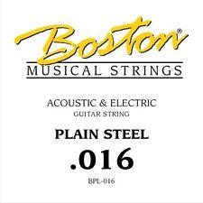 Boston BPL-016 corda singola per chitarra acustica ed elettrica 016