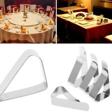 4Pcs Stainless Steel Table Cloth Clip Tablecloth Clamp Holder For Party Wedding