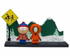 South Park Stan & Kenny with the Bus Stop Construction Set McFarlane Toys - Offi