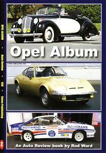 Book - Opel Album - Kadett Kapitan Olympia Rekord Ascona Manta - Auto Review