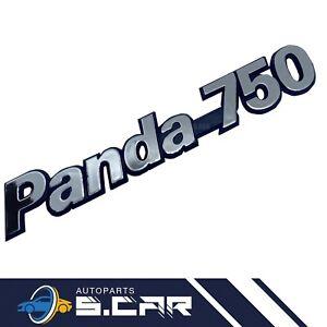 SIGLA STEMMA EMBLEMA FIAT PANDA 750 POSTERIORE CROMATO