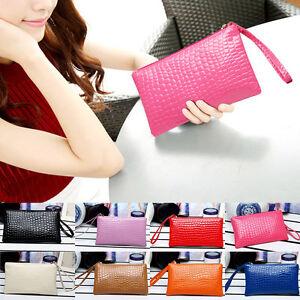 New Women PU Zipper Leather Handbag Shoulder Bags Tote Satchel Mini Purse Gift