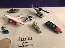 Micro Machines Lot Of 7  Planes Boats And City Stuff