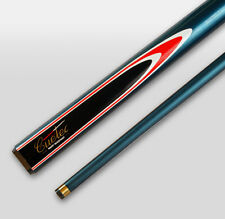 Quality CUETEC FIBREGLASS WOOD Blue Pool Snooker Billiard Cue Christmas Gift