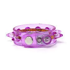 1 violet CLIGNOTANTE pointes Bracelet pièces del brille allumer Fête