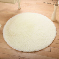Universal Big Fluffy Rugs Anti-Skid Shaggy Area Rug Room Living Room Bedroom