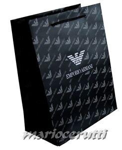 ARMANI GIFT BAG - BRAND NEW EMPORIO ARMANI PAPER GIFT BAG - SIZE 27×21×12 cm