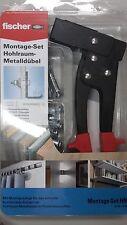 Fischer Montage-Set Hohlraumbefestigung Metalldübel HM 5x52-5x65 + Zange HM Z3