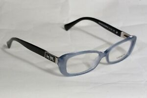 BRAND NEW COACH HC6063 5259 Elizabeth MILKY BLUE/ BLACK RX Eyeglasses 51-15-135
