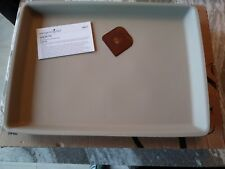 Pampered Chef Mint Condition Stoneware Large Bar Pan FREE SHIPPING #1446 USA!