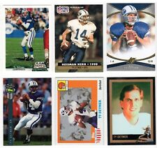 6 Different Ty Detmer Brigham Young Cougars 1990  Heisman Cards FREE Shipping