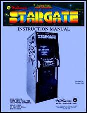Stargate Arcade Game Operations/Service/Repair Manual/Star Video Williams Xd