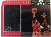 1998 98 Upper Deck Spectacular Stats Michael Jordan #23, Die Cut, Chicago Bulls