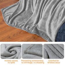 Warm Soft Throw Blanket Coral Fleece Blanket Fuzzy on Bed Sofa Hot 59 * 82 inch